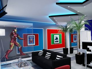 """Airbnb - """"Avengers"""""""
